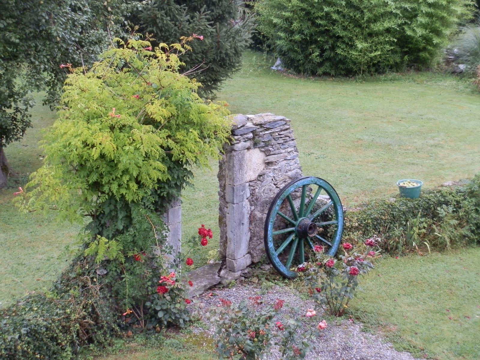 Entrance front garden