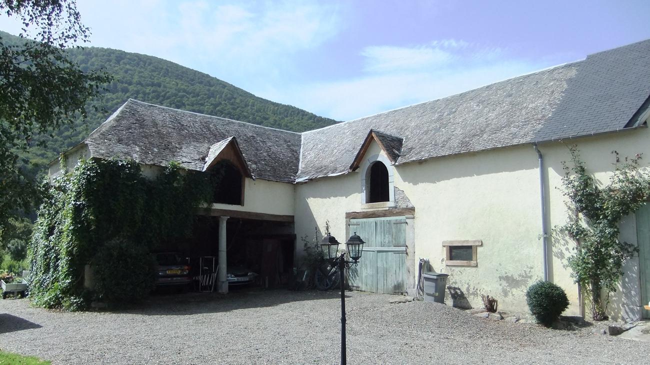 Corner of barn