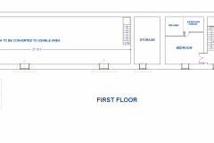 FIRST-FLOOR DIMENSIONS