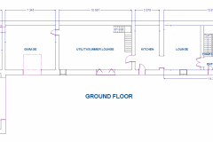 GROUND-FLOOR DIMENSIONS